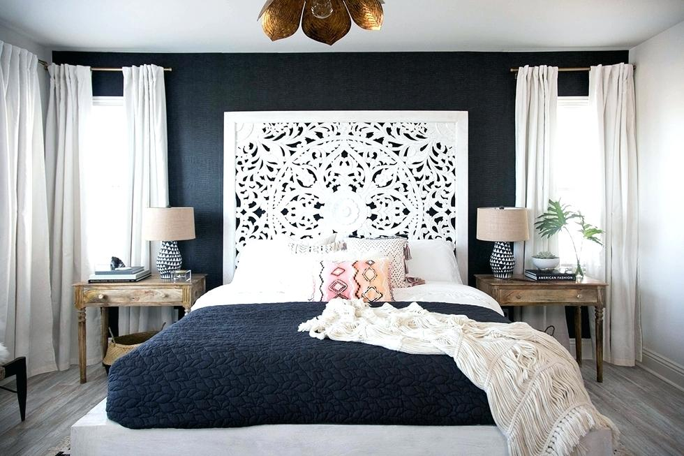 A Stylist Blue Accent Wall for Bedroom Design Ideas - The ...