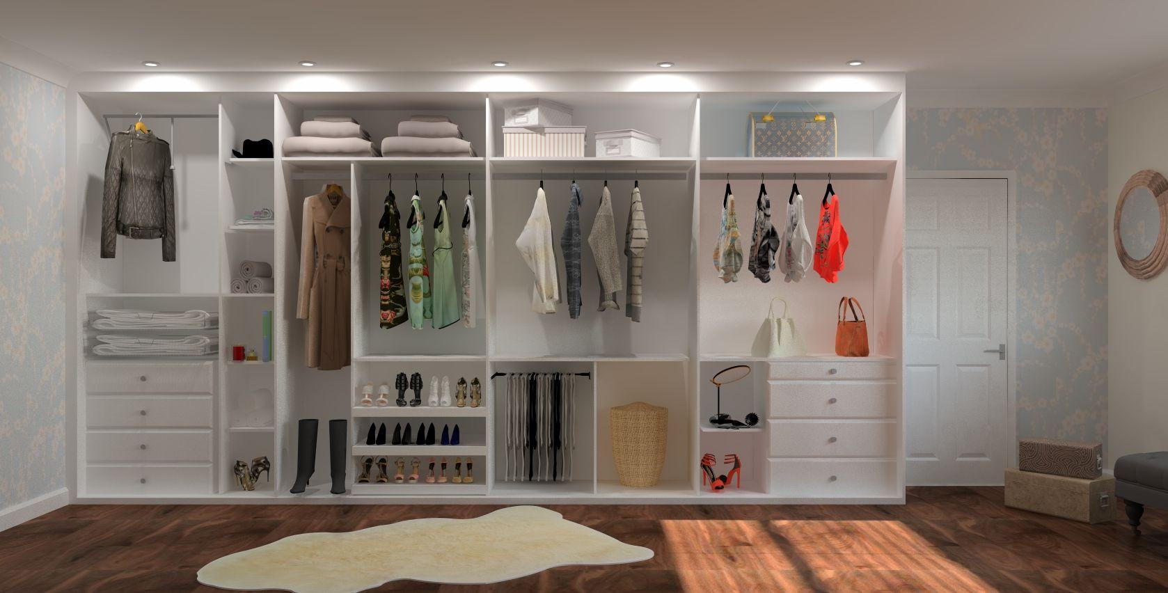 Inside of Wardrobe 1