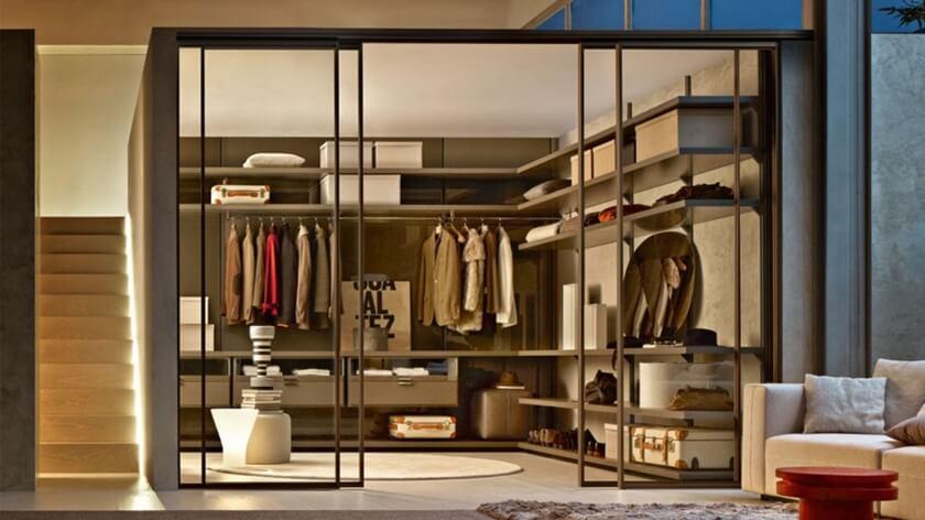 Inside of Wardrobe 22