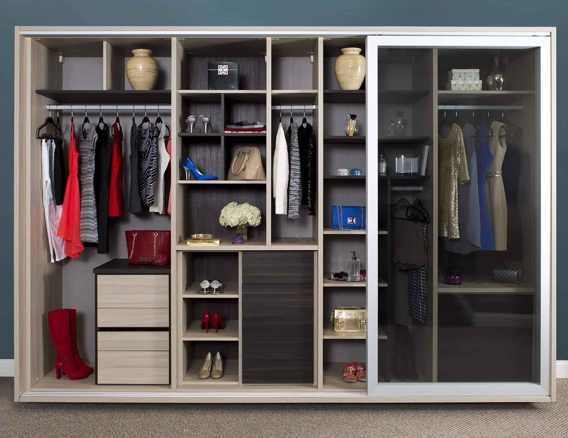 Inside of Wardrobe 25