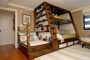 Modern Kid's Cabin Bed Designs
