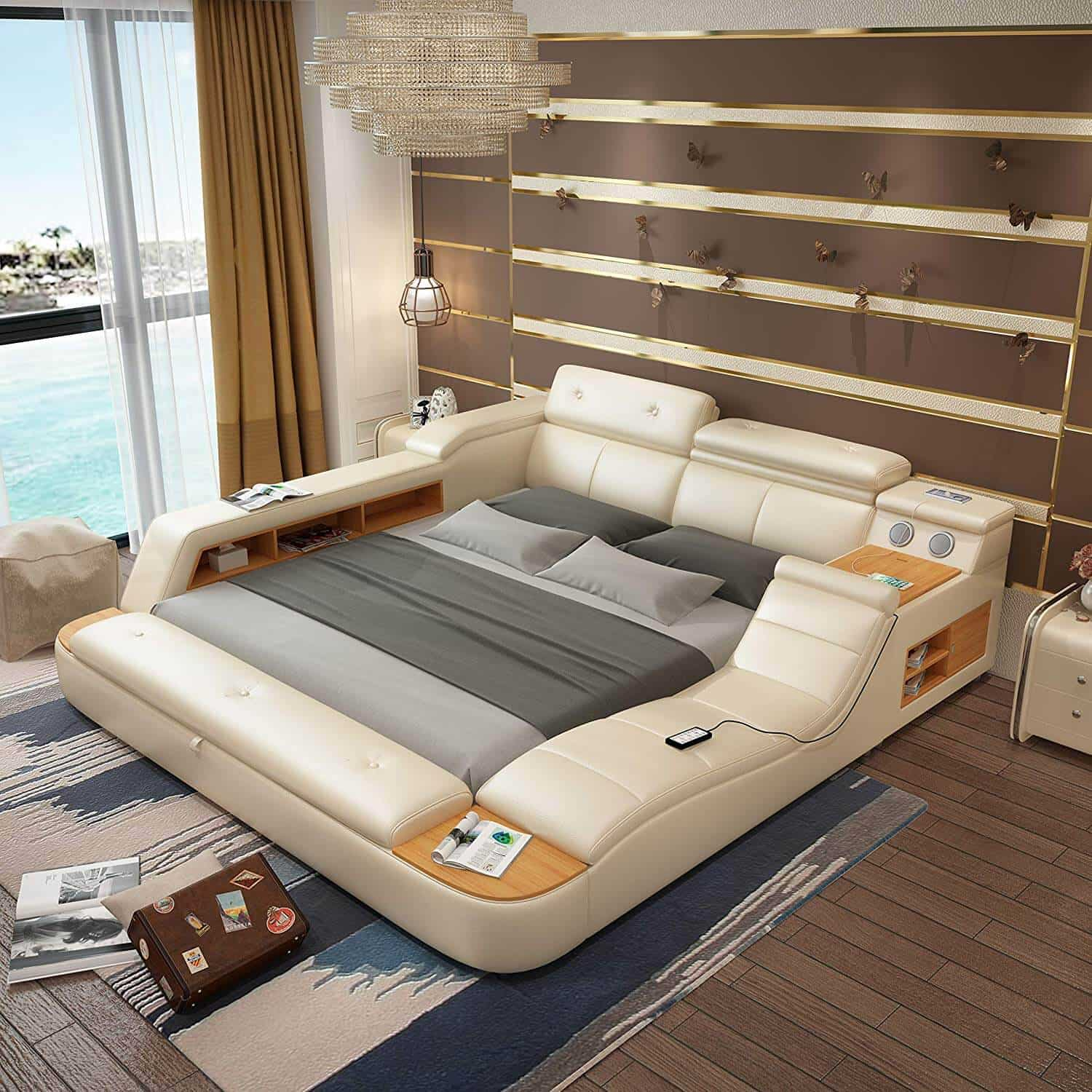 Laxurious storage Bed 13