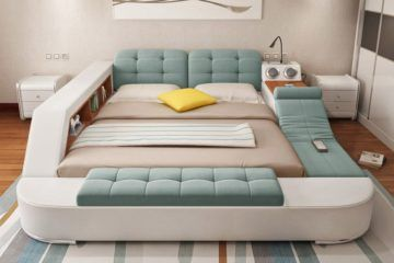 Laxurious storage Bed 17