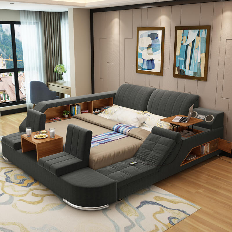Laxurious storage Bed 2