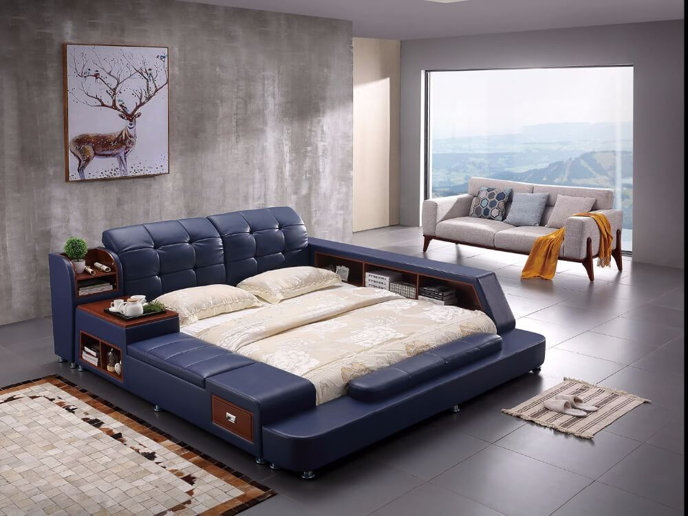 Laxurious storage Bed 22