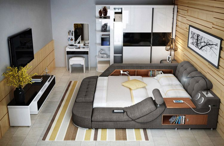 Laxurious storage Bed 3