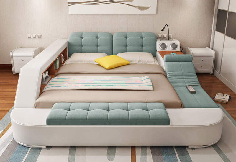 Laxurious storage Bed 4