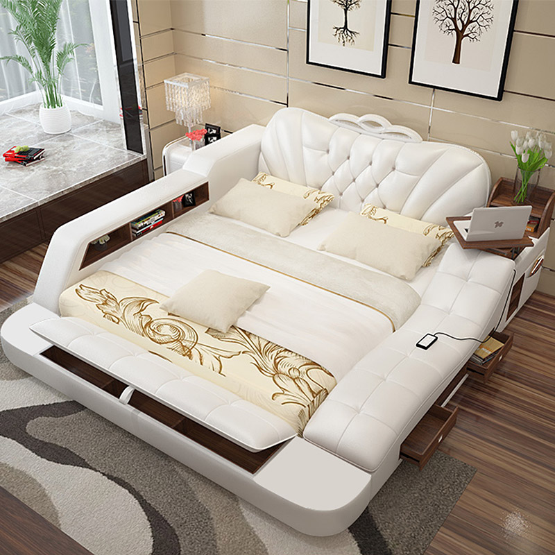 Laxurious storage Bed 8