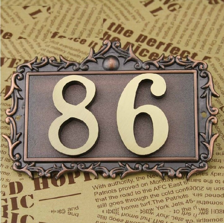 Name Plate For House 16
