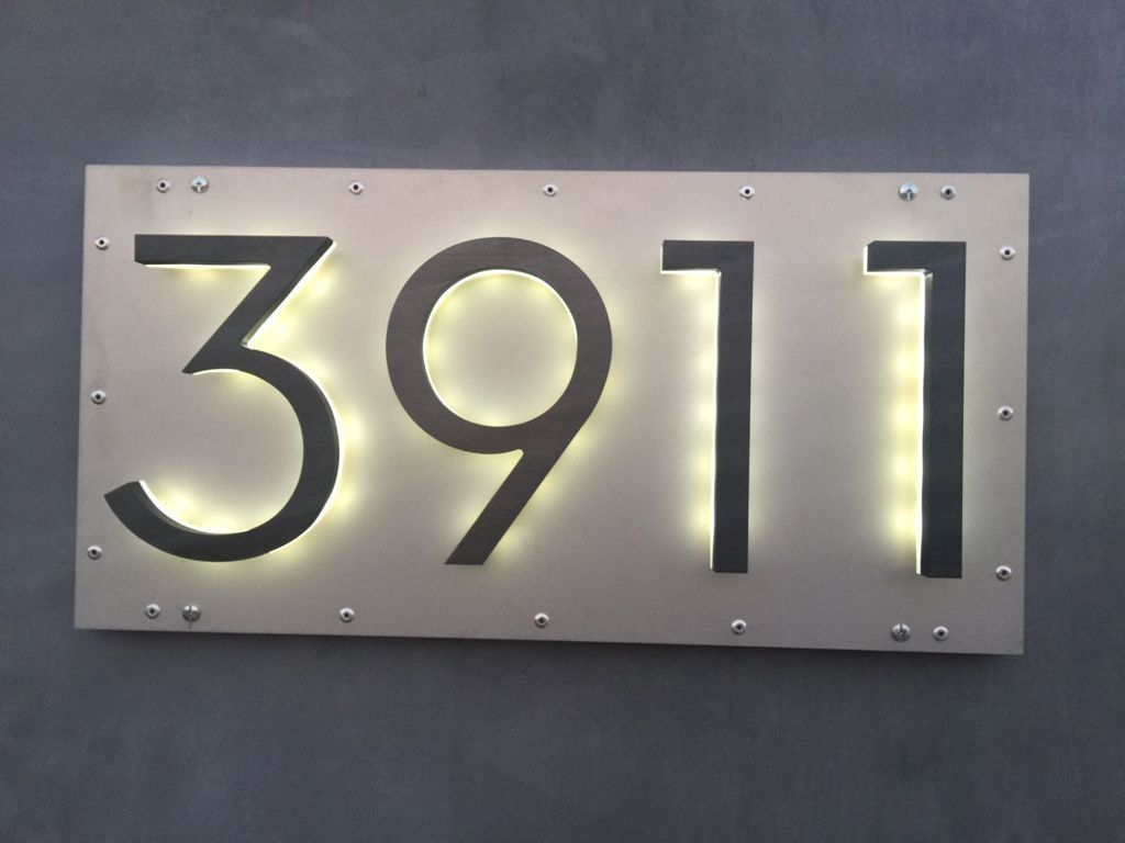 Name Plate For House 20