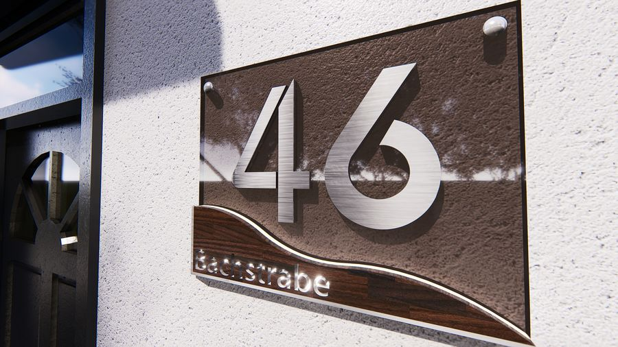 Name Plate For House 9