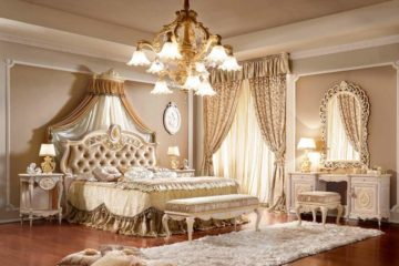 A Lavish and Royal Bed Designs Ideas