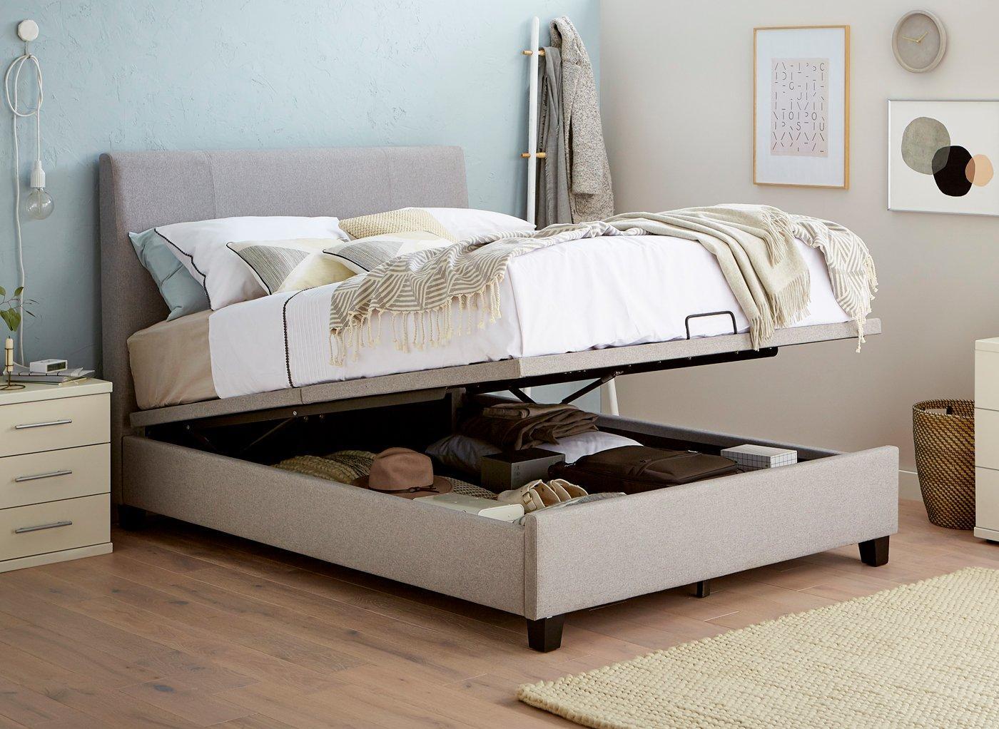 Smart Storage Bed Design
