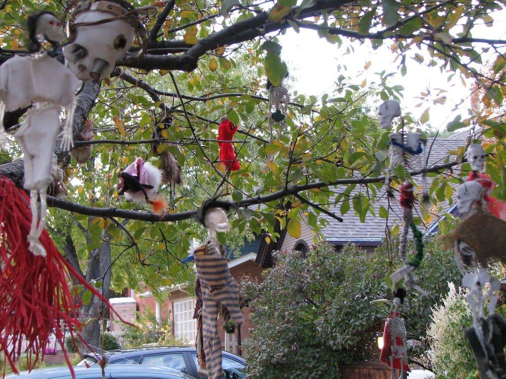 Halloween Outdoor Decoration Ideas
