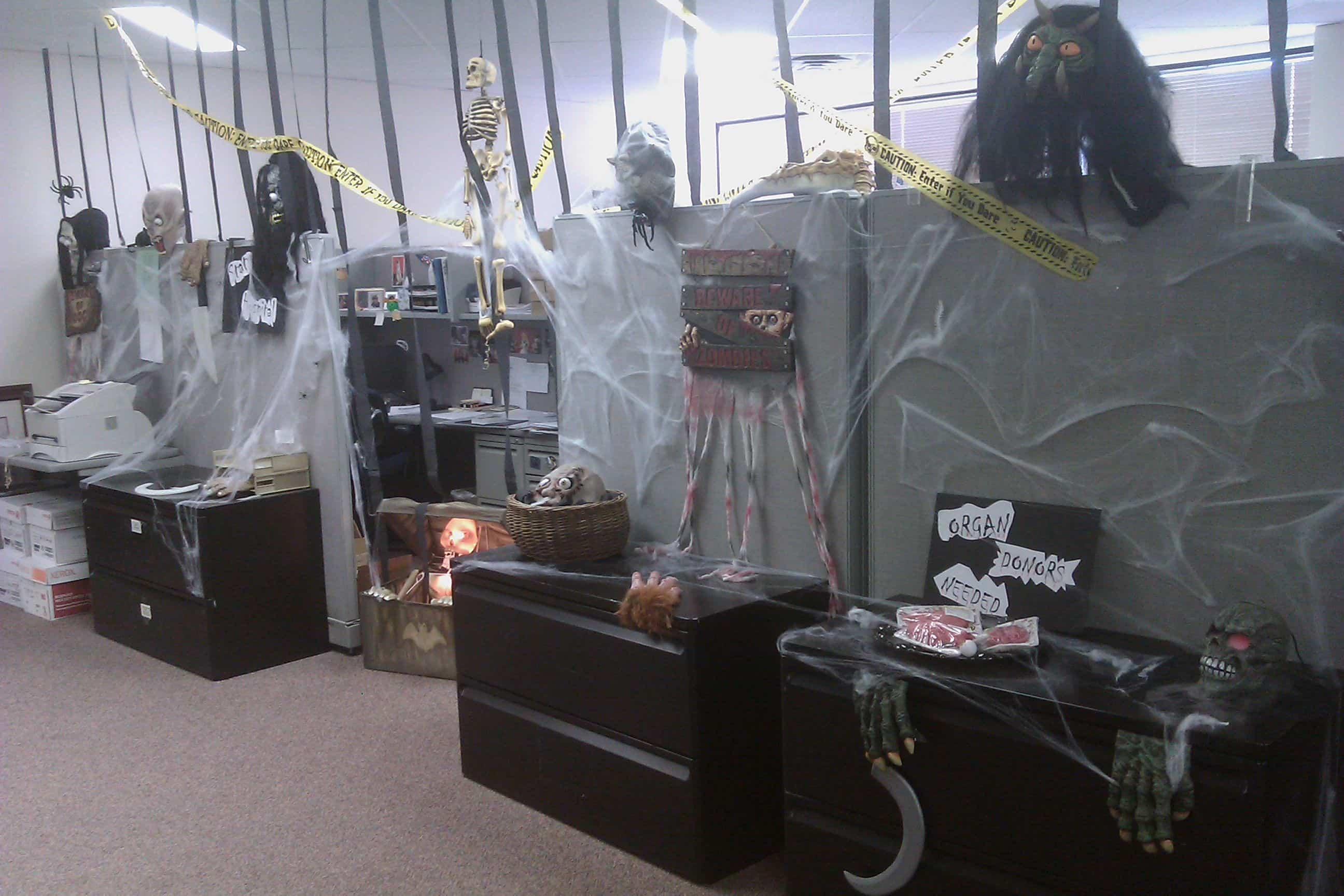 Halloween Office Decoration