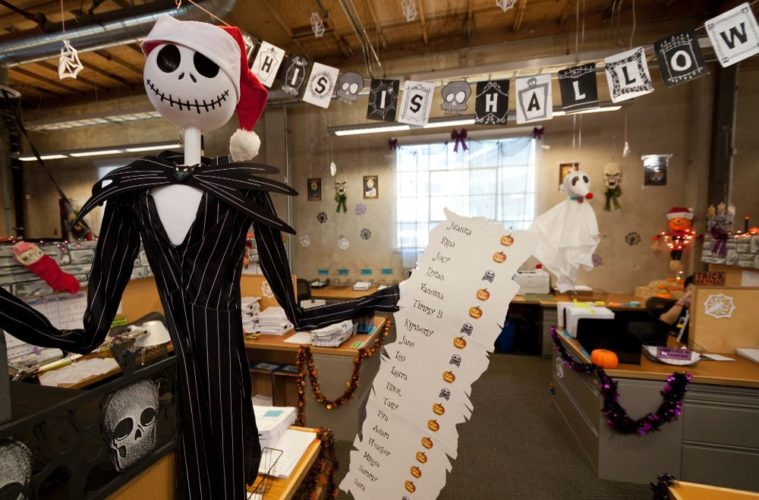 Spooky Halloween Office Decoration Ideas. - The Architecture Designs