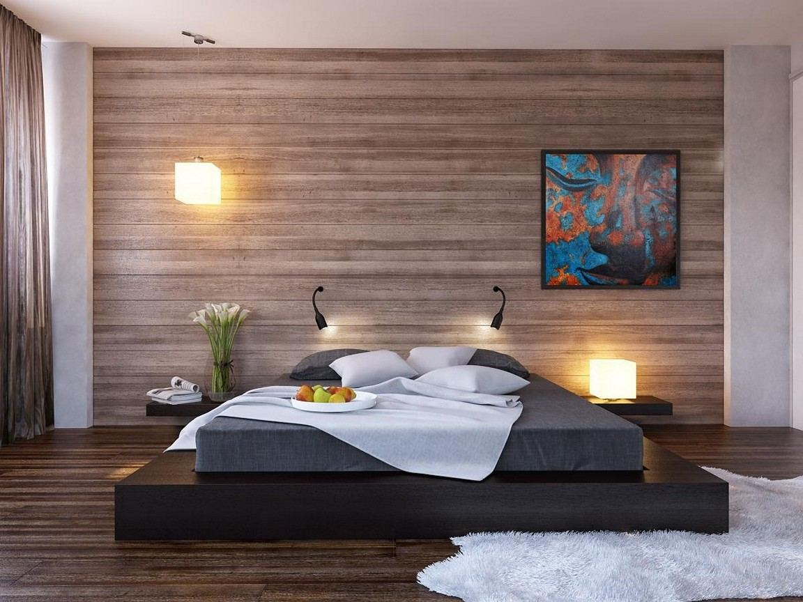 Mesmerizing Accent Wall of Bedroom Designs