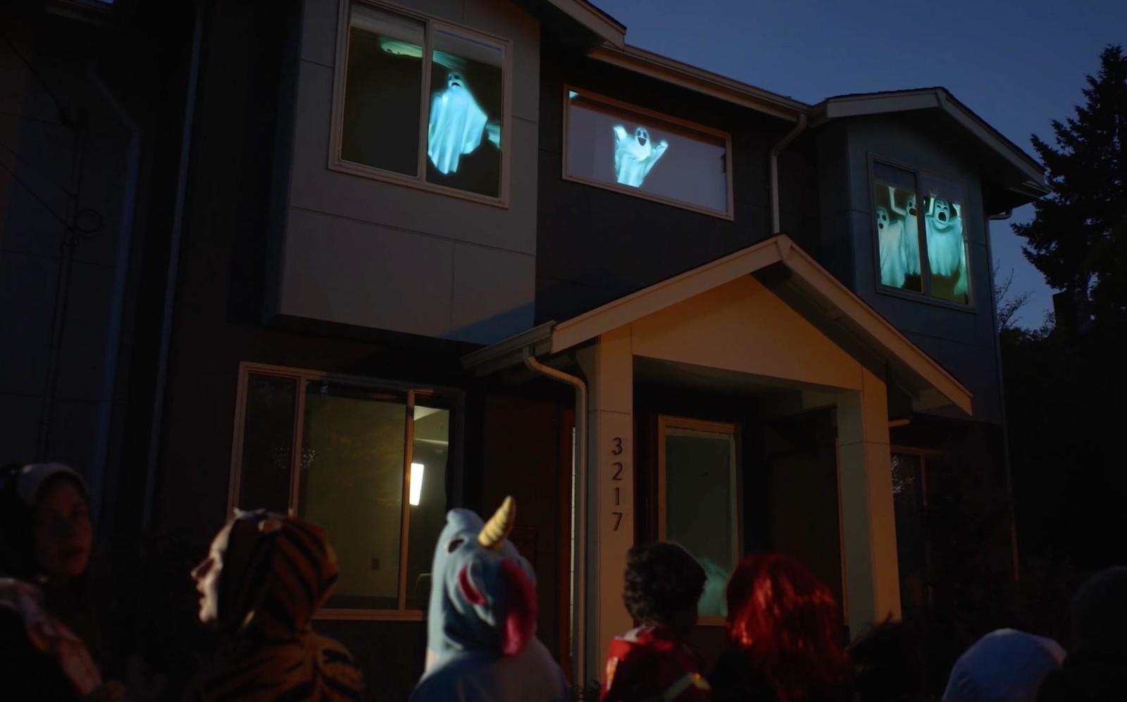 Halloween Windows Decoration