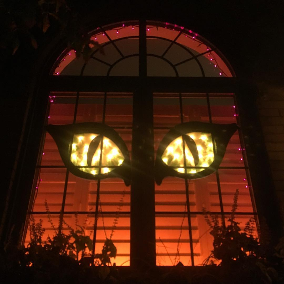 Spooky Halloween Windows Decoration Ideas The Architecture Designs