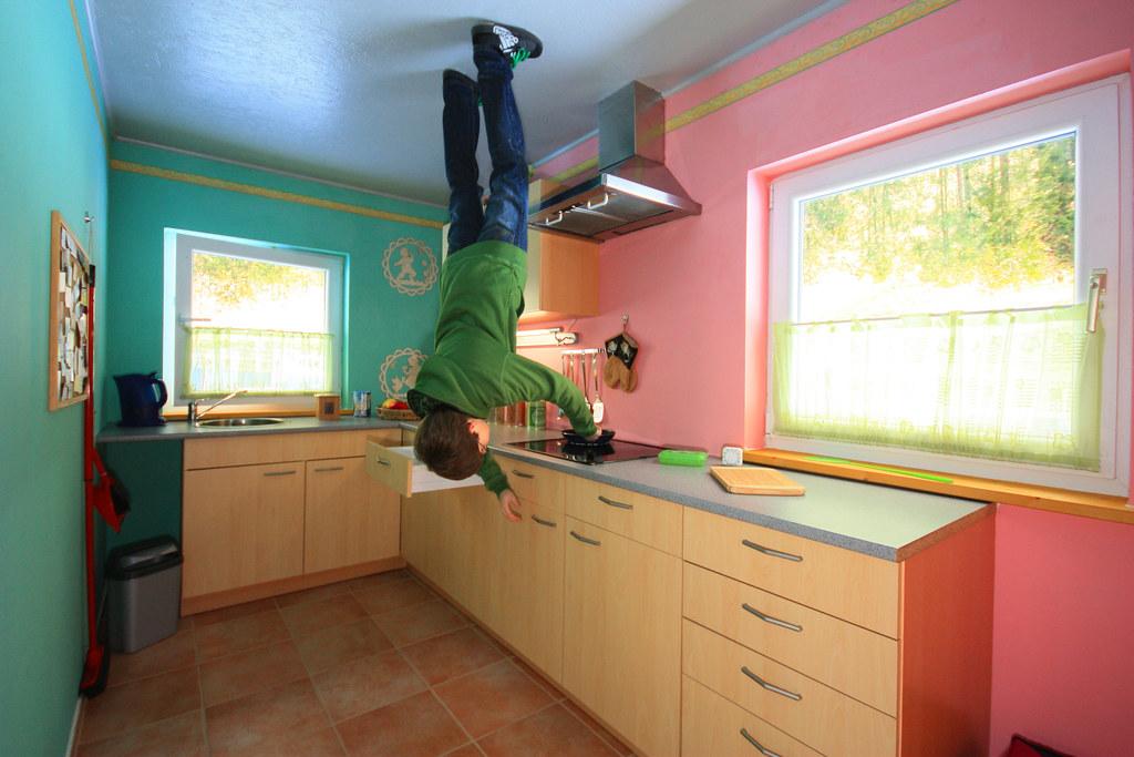 11 Upside Down House