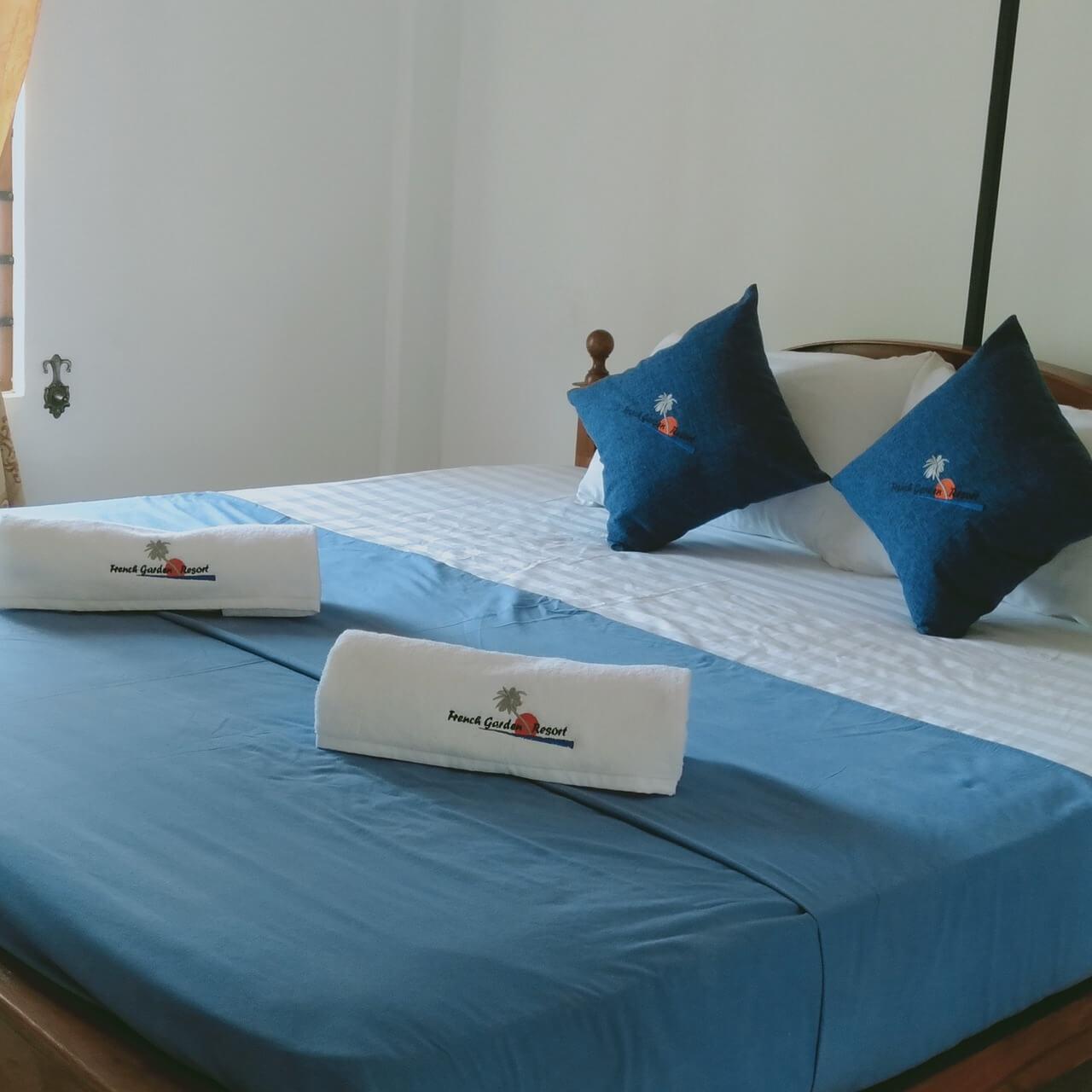 Arrange Pillow on a Bed