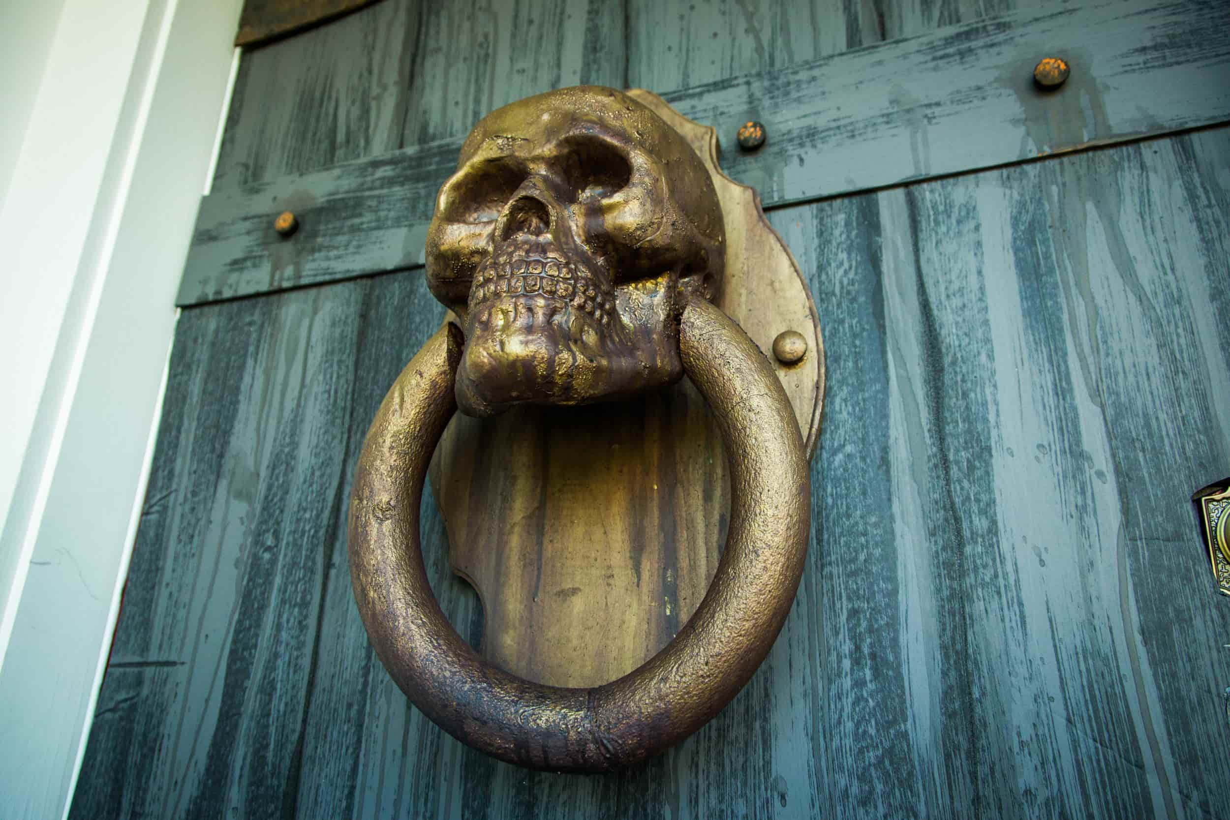 Creepiest Halloween Door Knocker