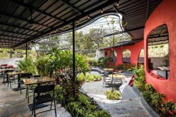 Garden Restaurant Interior Design