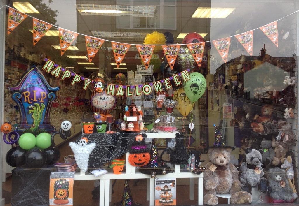 Halloween Special Shop Window Display Decoration