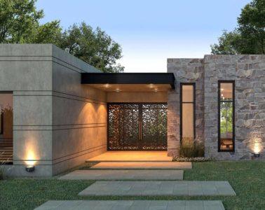 Modern House Entrance Designs