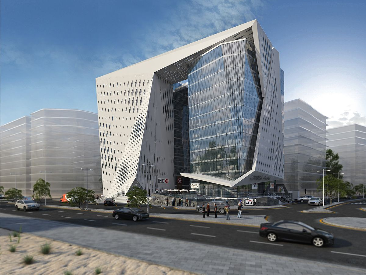 Impressive Office Building Design