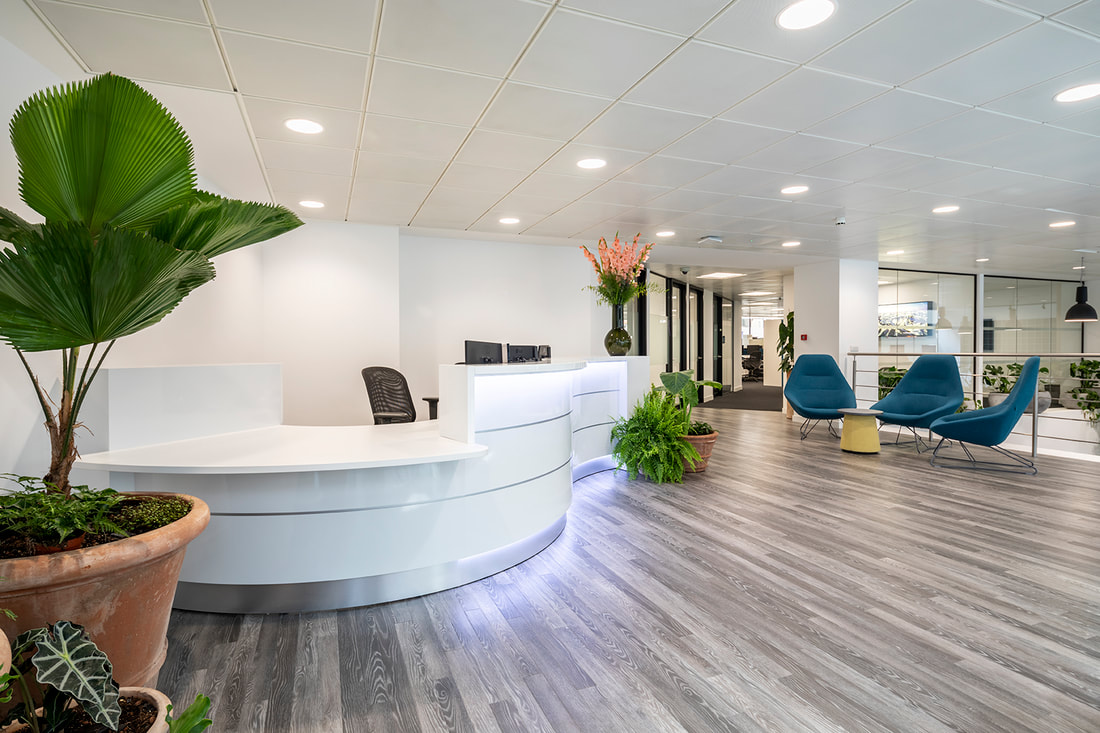 Office Reception Designs