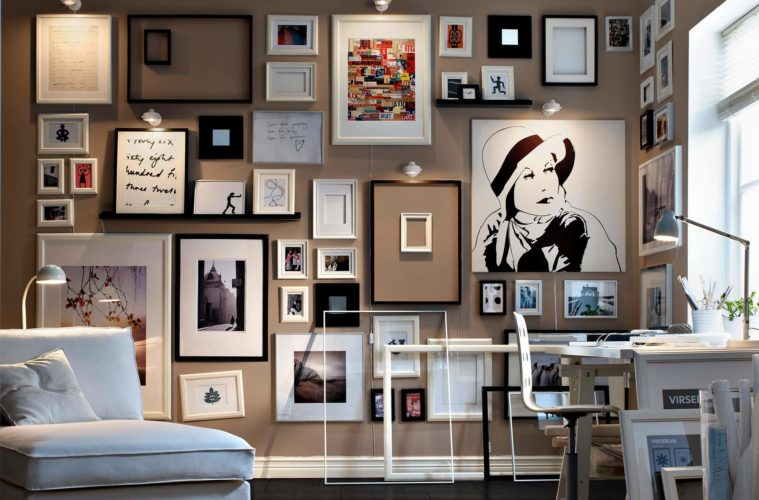 house with Picture Wall