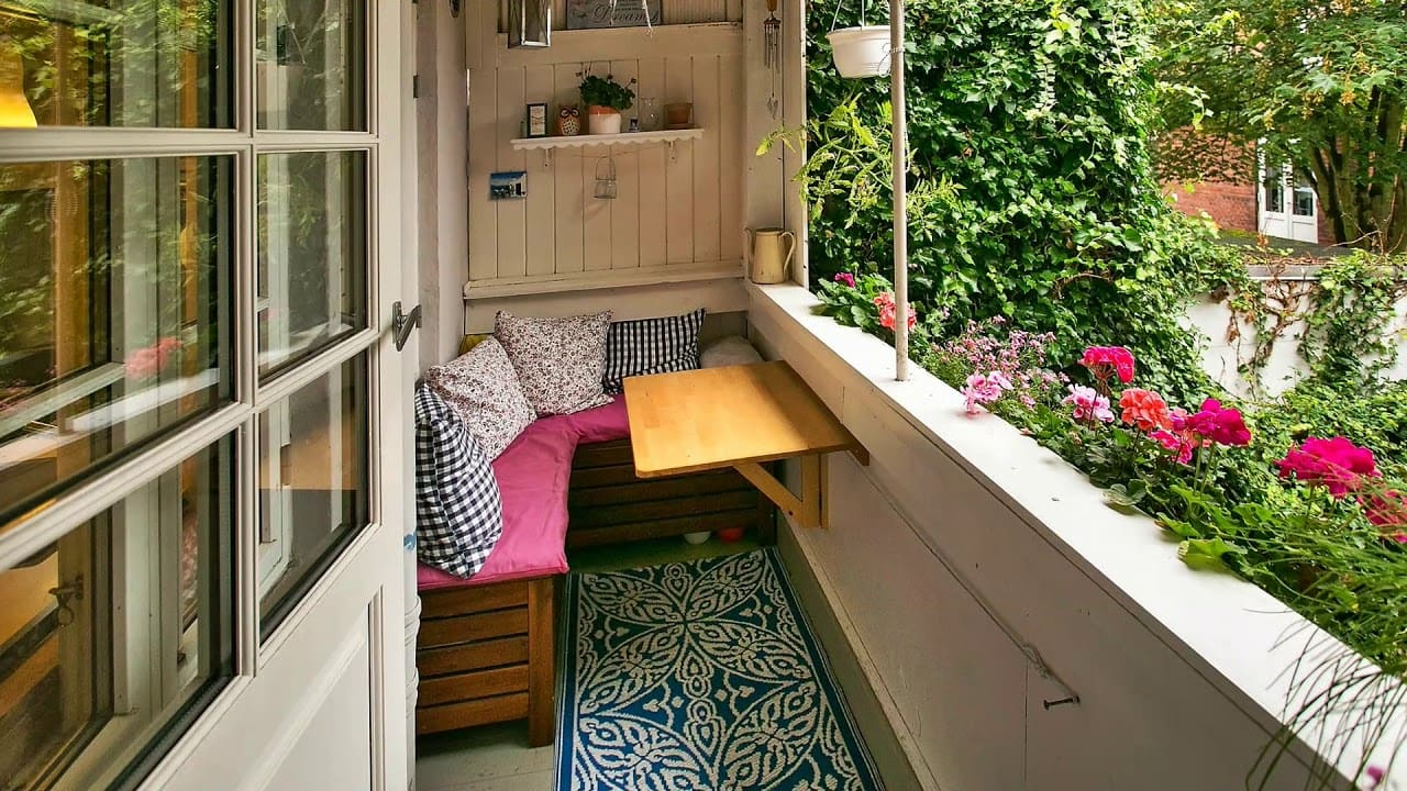 Small Balcony Decoration and Ideas