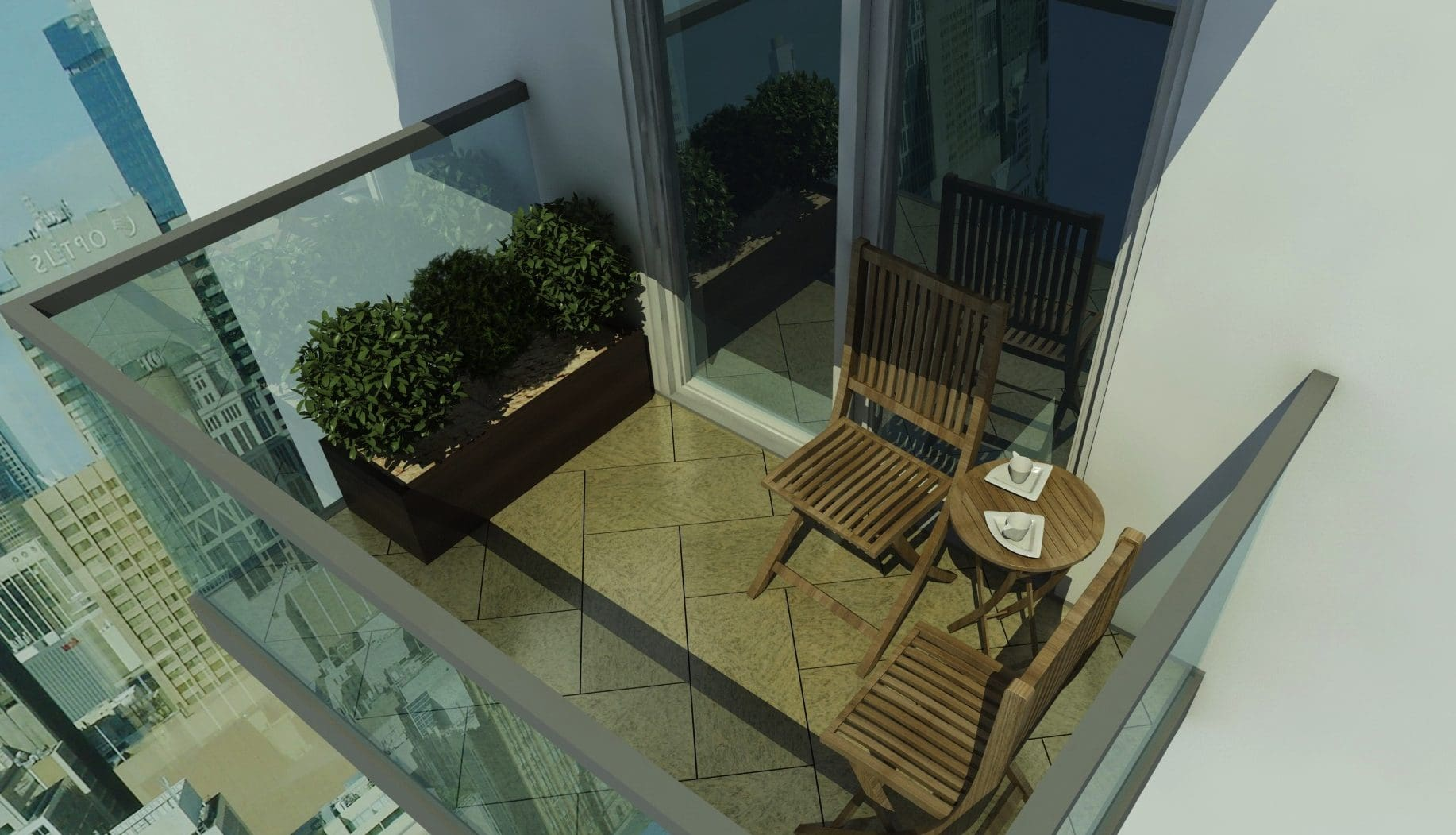Small Balcony Decoration and Ideas