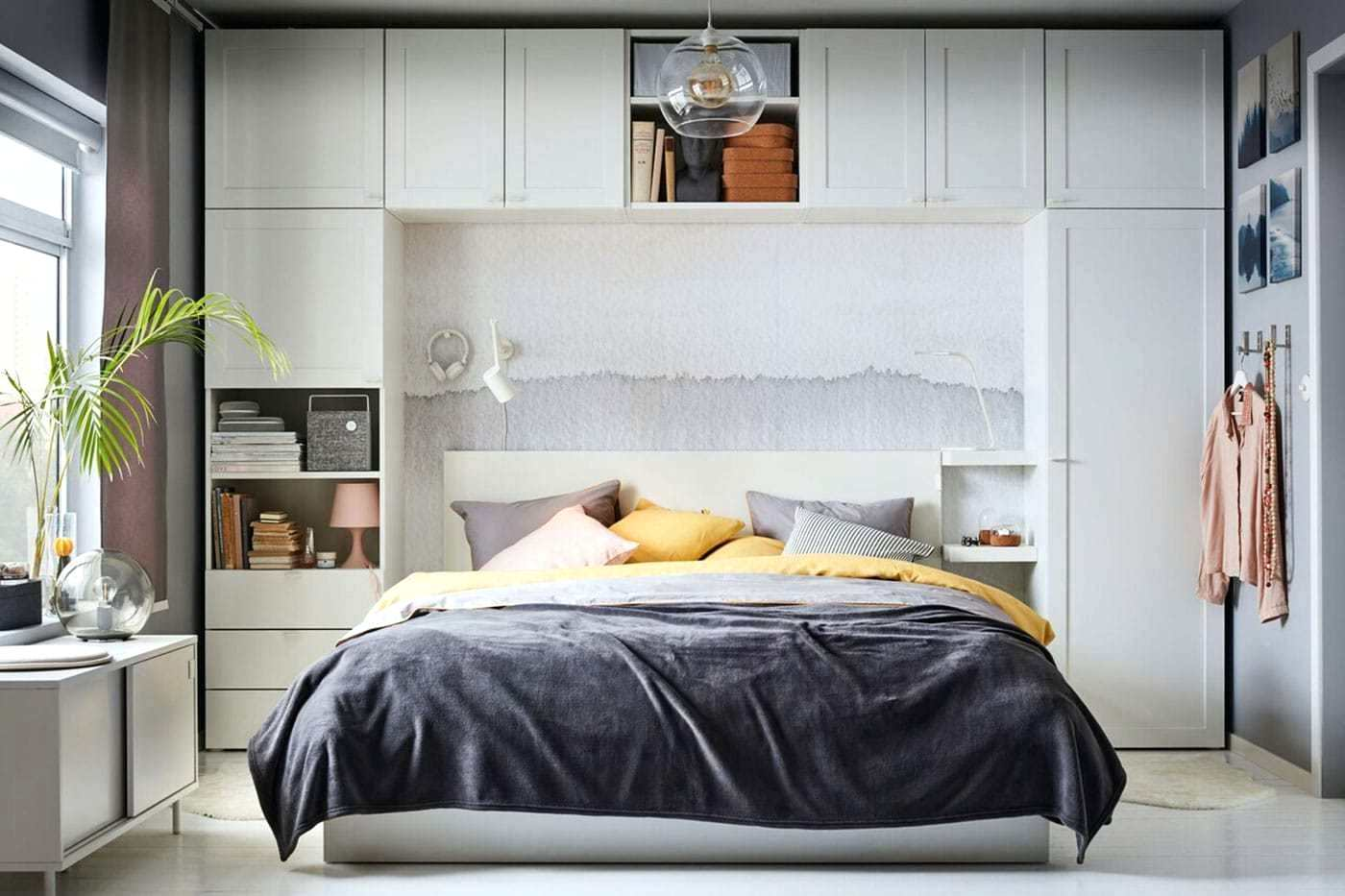 Refreshing Small Bedroom Ideas