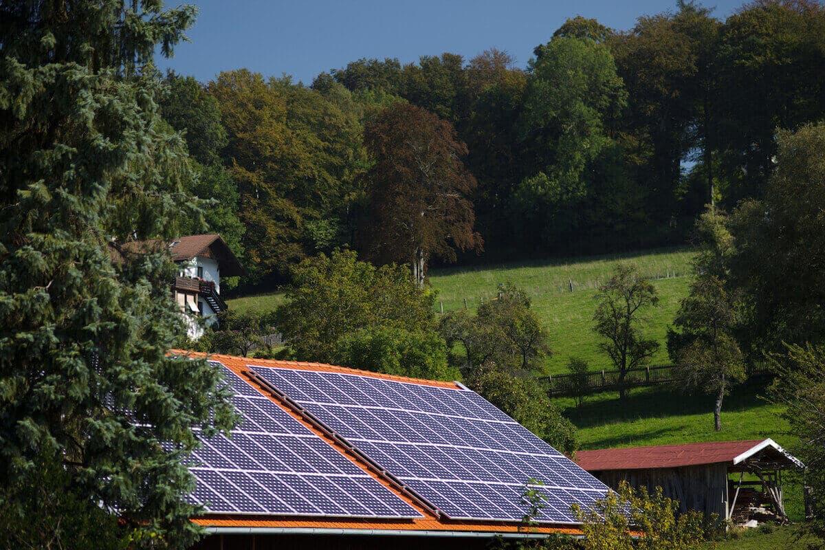 Solar Umbrella House