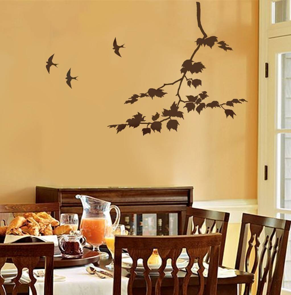 Stencil Wall Painting 10