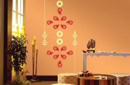 Stencil Wall Painting 6