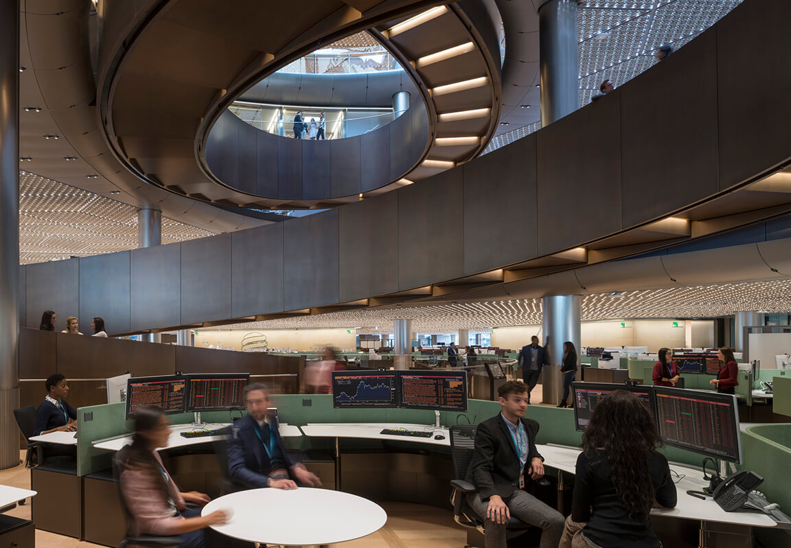 Modern Designs of Bank Interior