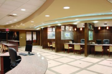 Modern Designs of Bank Interior