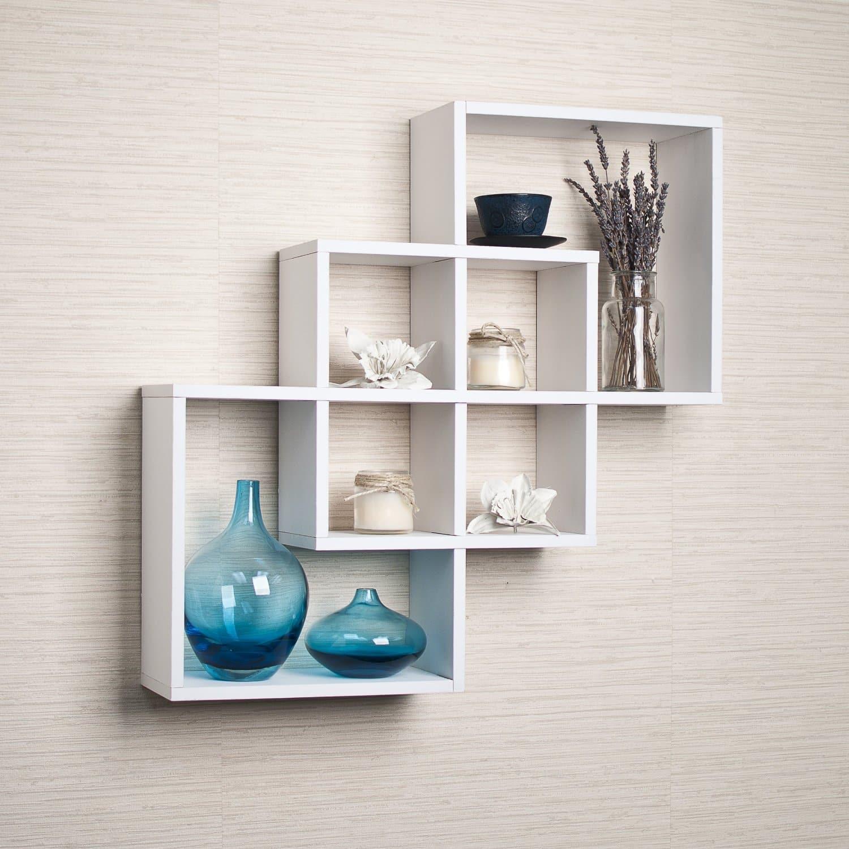 Decorative Modern Floating Shelves For Your Leaving Room