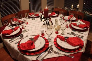 Christmas Table Decoration
