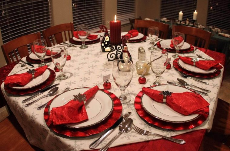 Diy Christmas Table Decoration Setting Ideas The Architecture