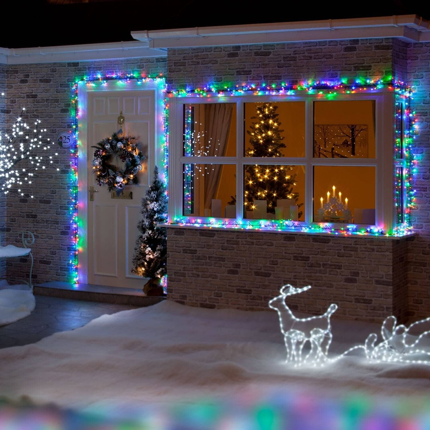 Best Window Lights Decoration Ideas for Christmas - The