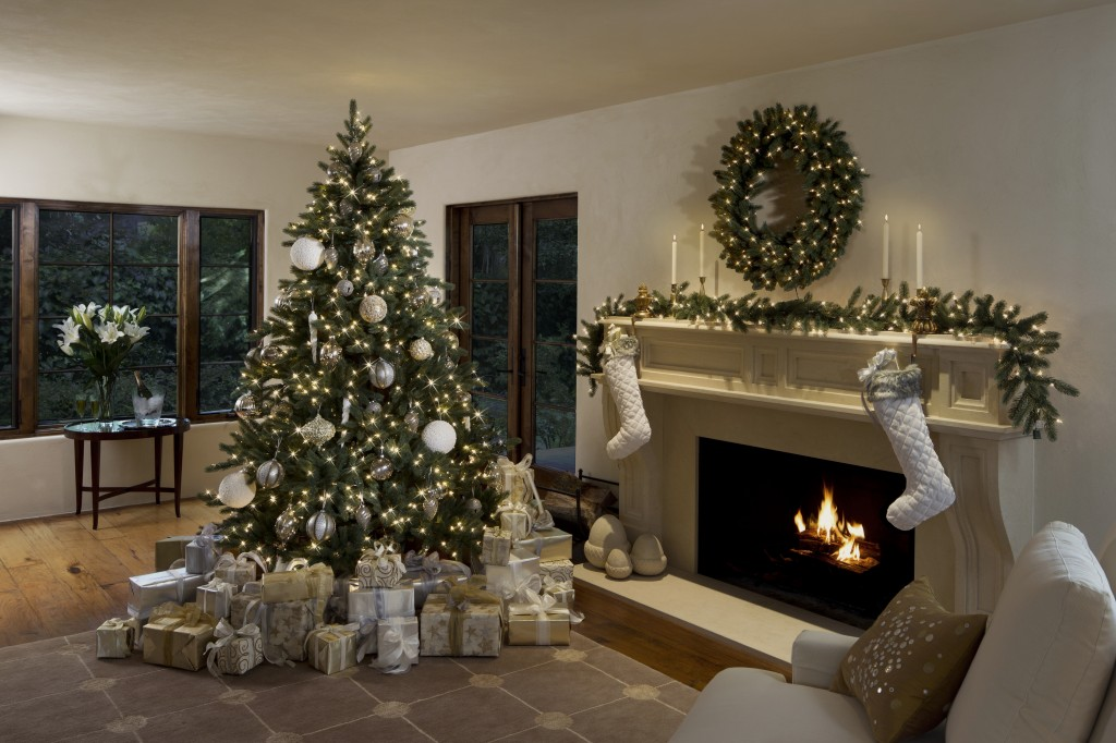 Decorate The Living room for Christmas