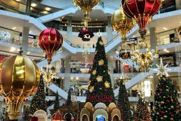 Christmas Mall Decoration