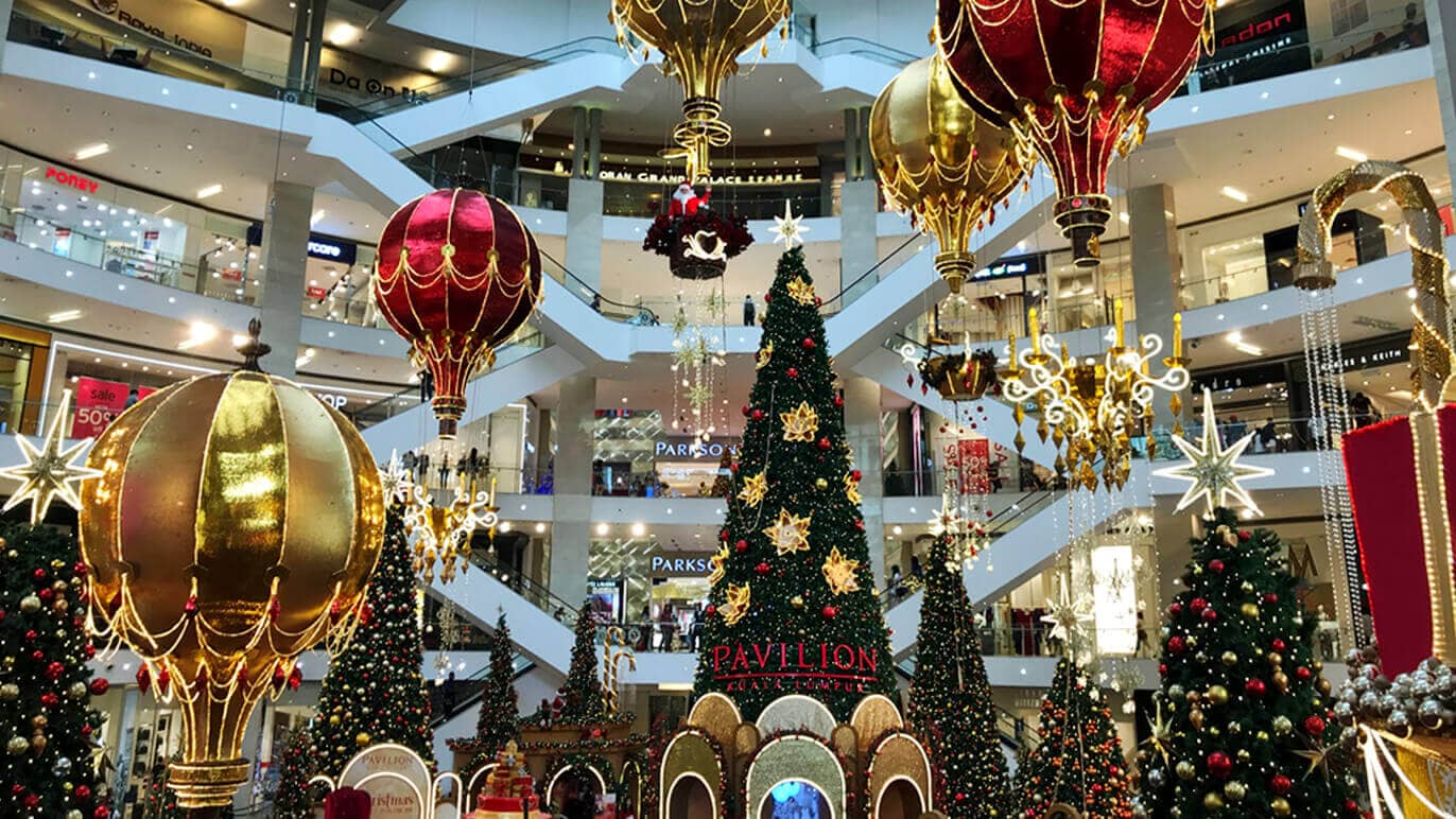 Christmas Mall Decoration Ideas That May Attract People