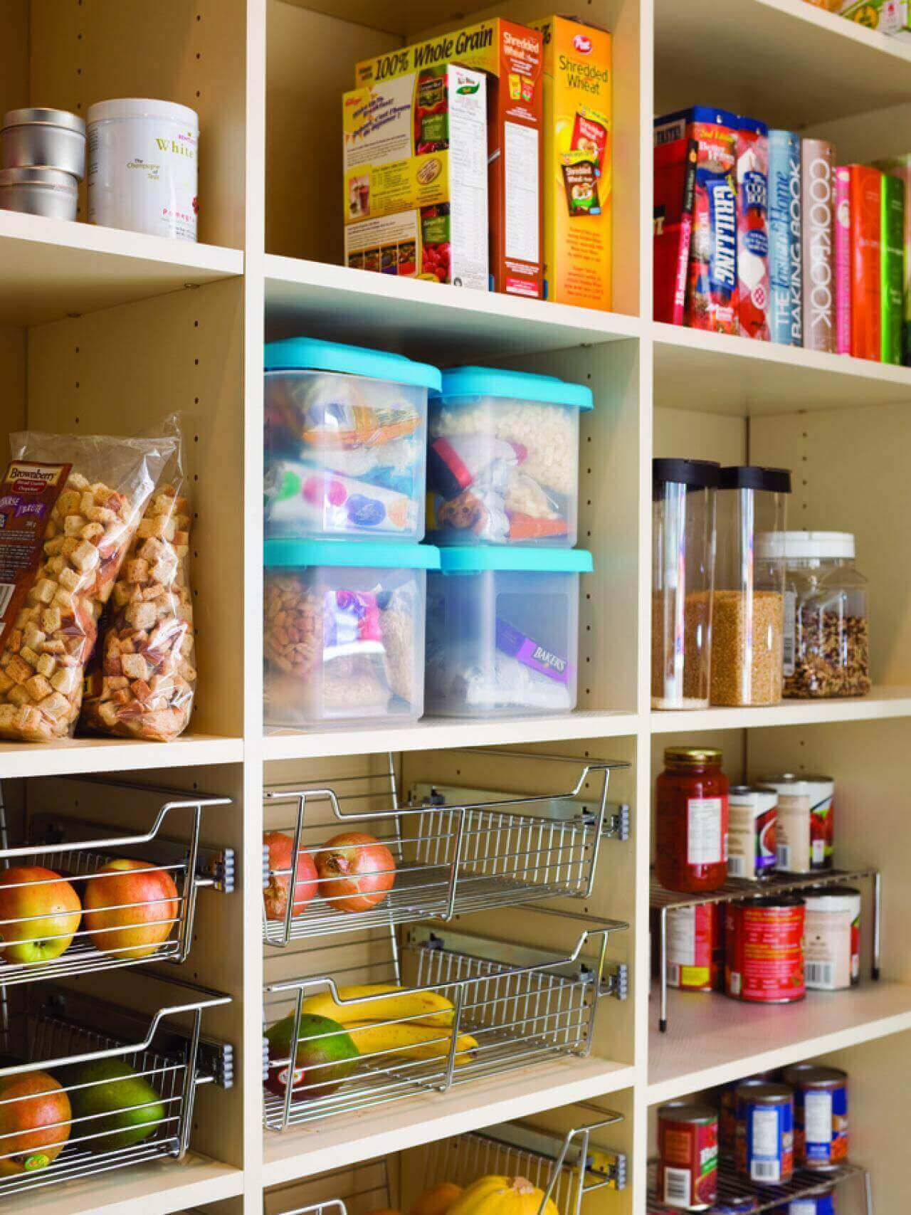 maximize storage space in your family home this winter