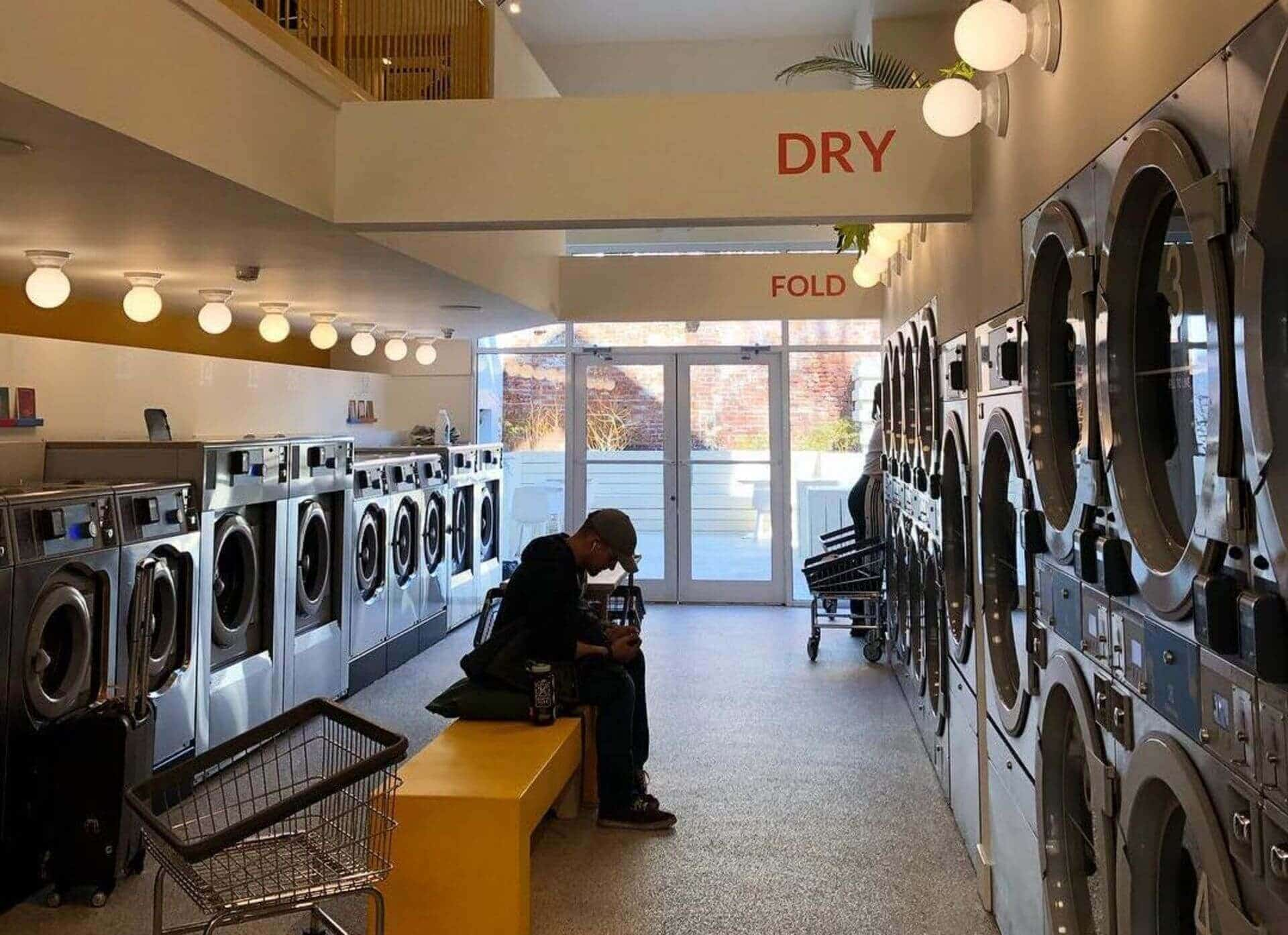 Laundry Shop Interior Design