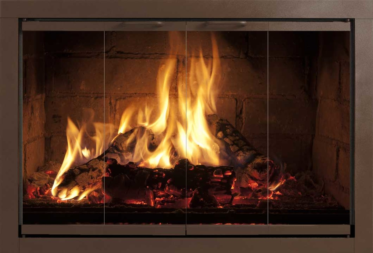 Fireplace Glass Doors for Majestic Fireplace